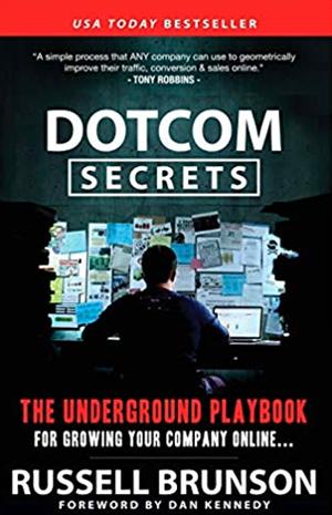 dotcom secrets book written by russell brunson